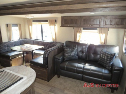 2018 Vibe Travel Trailers Interior